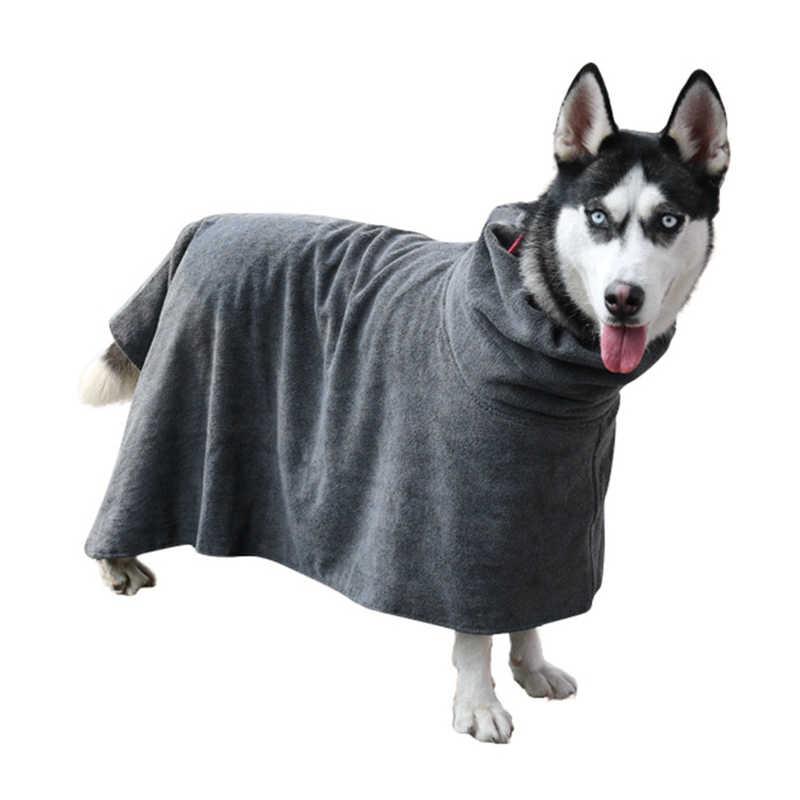 Халат для собак сушилка для собаки полотенце ванная для собак полотенце для маленьких средних больших собак 400 г микроволокно суперабсорбирующее полотенце