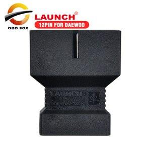 Image 1 - 2017 Лидер продаж 12 контактный разъем для Daewoo для X431 IV V pro launch x431 pad ii pro 3 V + бесплатная доставка