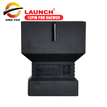 2017 Top selling 12pin connector for Daewoo for X431 IV V pro launch x431 pad ii pro 3 V+ free shipping