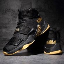 Мужская баскетбольная обувь; Пара спортивных мужских кроссовок; LBJ; спортивные кроссовки; мужские высокие дышащие уличные кроссовки; Zapatillas De Baloncesto