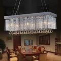 Modern K9 Crystal Chandeliers Lighting Lustres de Cristal Chanderlier Lighting Lamps Home Deco