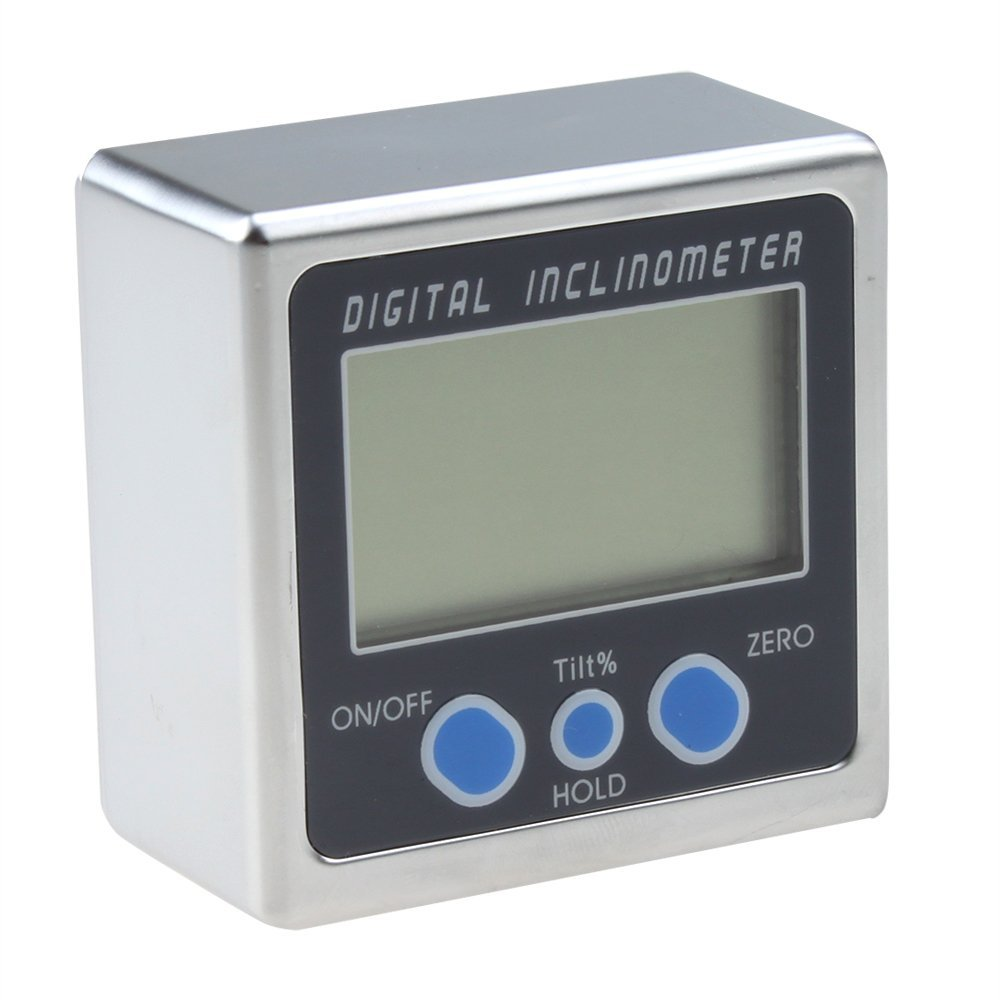 Digital Angle Cube Gauge Inclinometer Magnetic Base High Accuracy 0.05 Degree BE