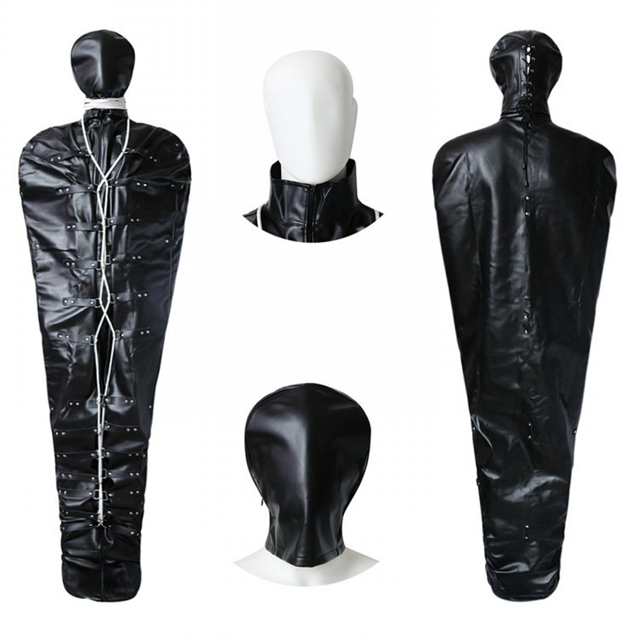 Full Body Restraint Sex Slave Roleplay Mummy Bag Bondage Fetish Toys Adult Products Sex Games for Married Couples 302405173Full Body Restraint Sex Slave Roleplay Mummy Bag Bondage Fetish Toys Adult Products Sex Games for Married Couples 302405173