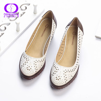 2017 Summer Style Hollow Out Sandals Women Shoes Pointed Toe Conver High Heel Sweet Woman Pumps