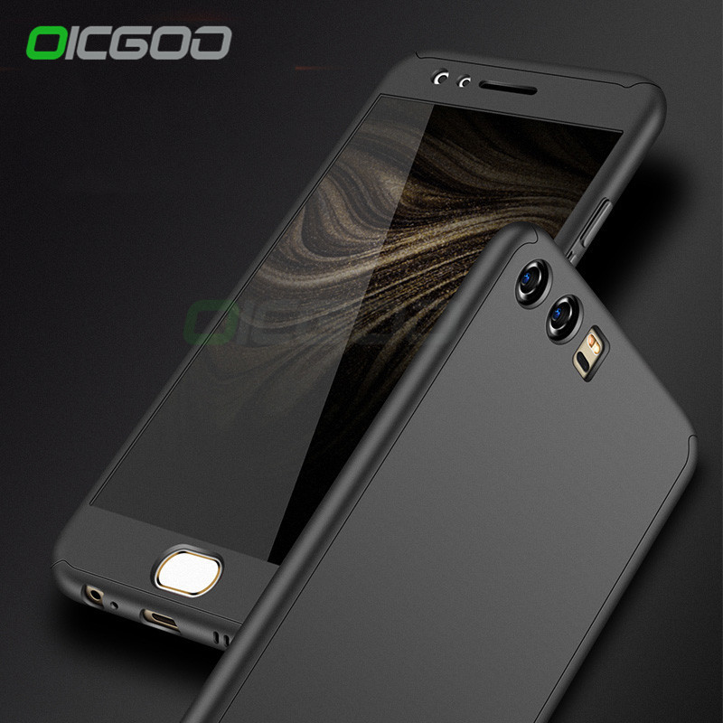 OICGOO Degree Full Coverage Case For Huawei P P lite P Cover