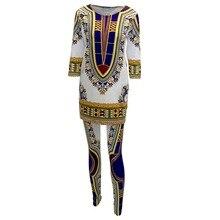 Africaine Print Dashiki Summer Traditional Dress