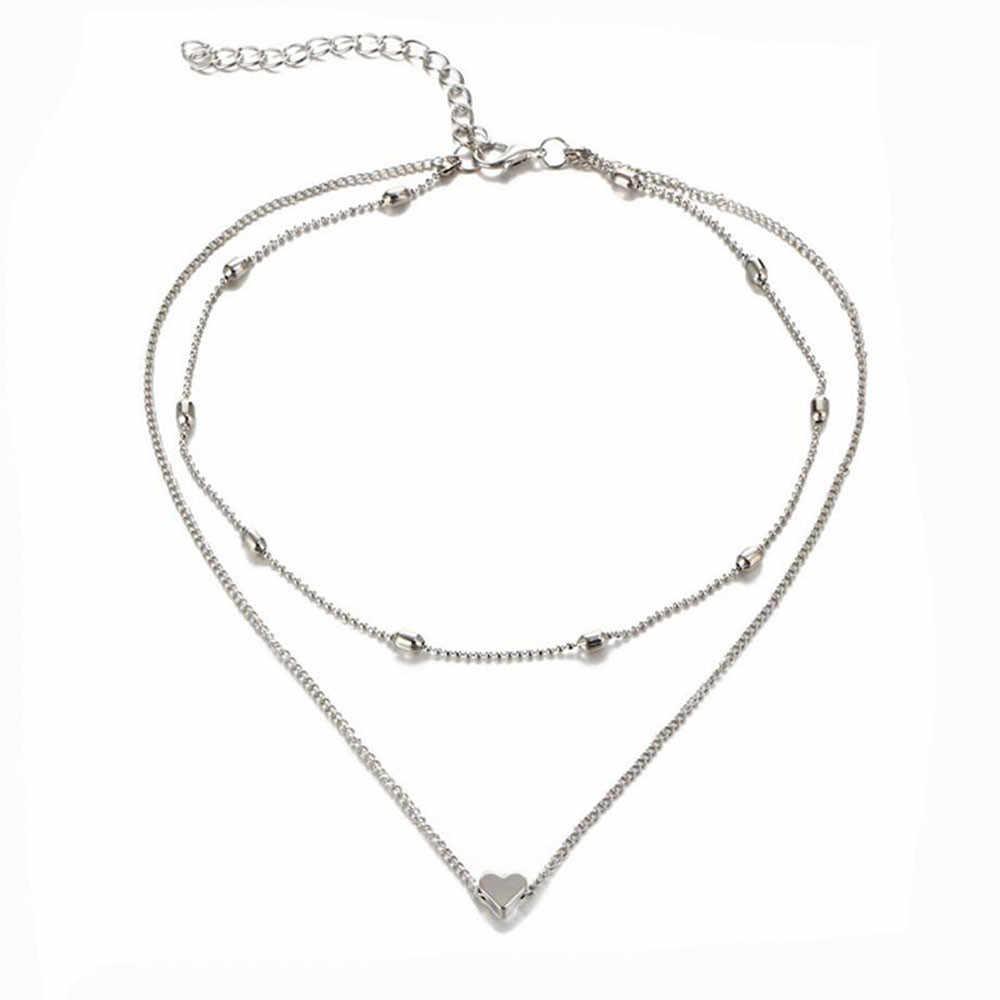 أنيق البرية قلادة النساء الملابس والاكسسوارات قلادة الترقوة سلسلة عالية الجودة العصرية قلادة قلادة مجوهرات GD L0325