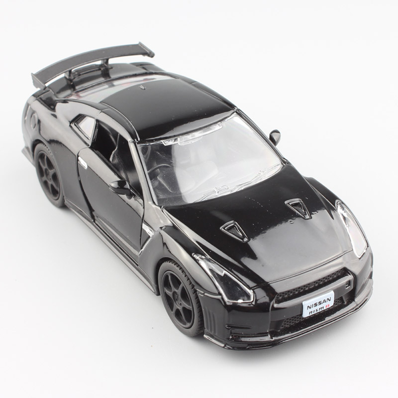 1:36 Scale Mini 2014 Nissan GTR R35 Skyline GT-R Super Sports Racing Metal Die Cast Model Car Toy Auto For Kids Boy Miniatures