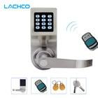 LACHCO Hide Key Digital Keypad Remote Control Password Code Spring Bolt Access Smart Electronic Door Lock Intelligent SL16086RM