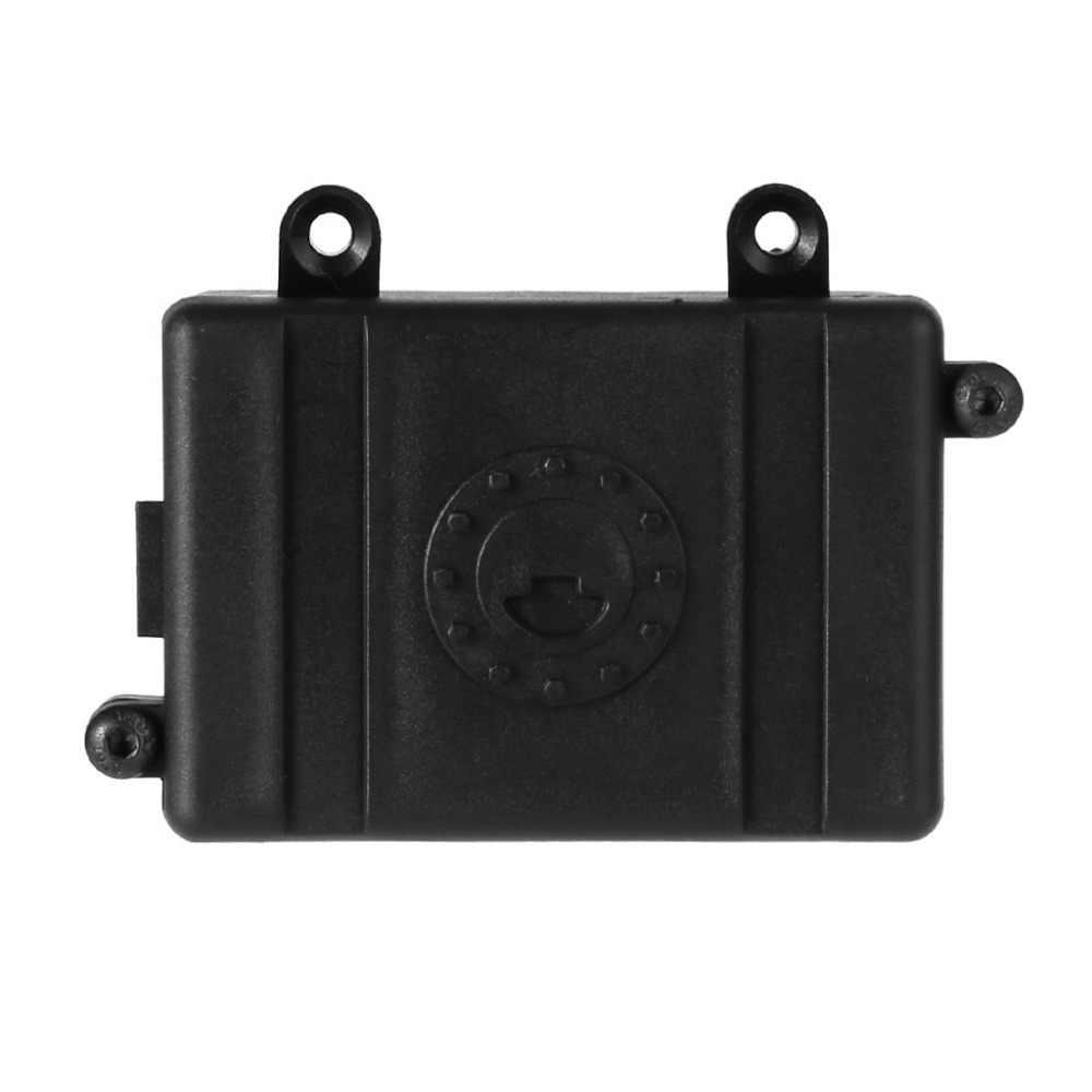 1 PC RC oruga coche Radio plástico ESC receptor caja para 1/10 D90 D110 Axial SCX10 JUN5-A