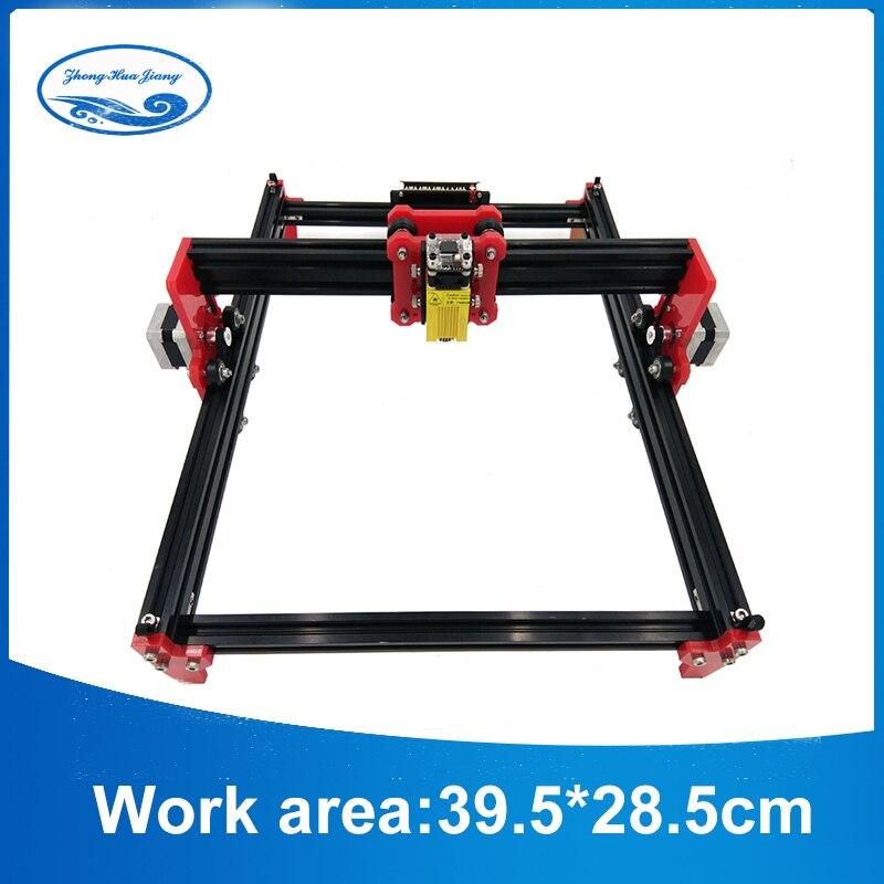 DIY 15w Violet Laser Engraving Machine CNC Printer 500mw 2500mw 5500mw 15w laser cnc machine working