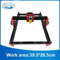 DIY 15w Violet Laser Engraving Machine CNC Printer,500mw/2500mw/5500mw /15w laser cnc machine, working area 39.5*28.5cm,