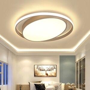 Image 2 - ミニマリズム白/黒現代のledシーリングライト寝室玄関ホームlamparasデ手帖ためランパーダled天井ランプ