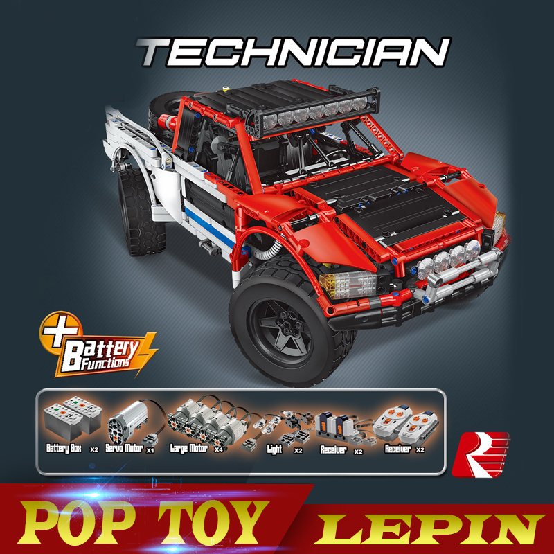 Lepin 23013 Genuine 2314Pcs Technic Series The Remote-Control Off-road Car Set Building Blocks Bricks birthday gifts boys girls lepin 23013 genuine technic series the remote control off road car set 2314pcs building kits blocks bricks legoing gifts