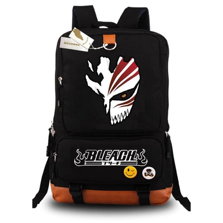 Japanese Anime Luminous Backpack Fashion Cartoon Bleach Rucksack Students School Bags Bookbag Laptop Travel Bags
