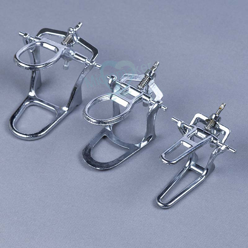 Dental Lab Dental Occluding Articulator Chrome Plated Full High Arch Adjustable L/M/S Size For Choose