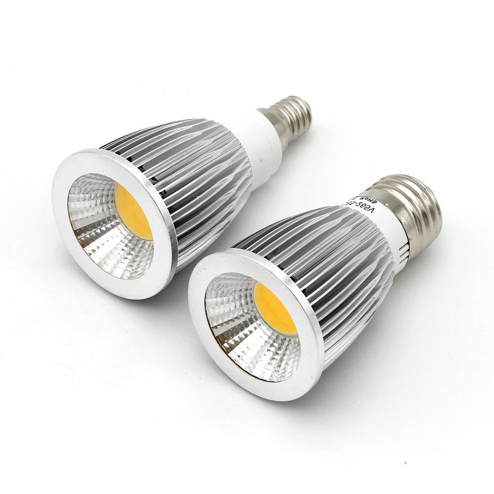 1pcs Super Bright Energy COB LED Bulbs Dimmable Led Light 9W 12W 15W LED Lamp Spotlight MR16 12V E27 Gu10 E14 110V 220V