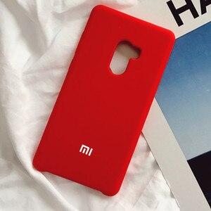 Image 1 - For Xiaomi Poco Pocophone F1 case luxury liquid silicone protective cover super comfortable shell
