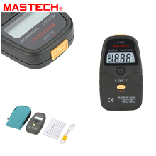 Wholesale prices MASTECH MS6500 31/2 K-type Digital LCD Thermometer Temperature Meter With TP-01 Thermocouple Probe Measurable