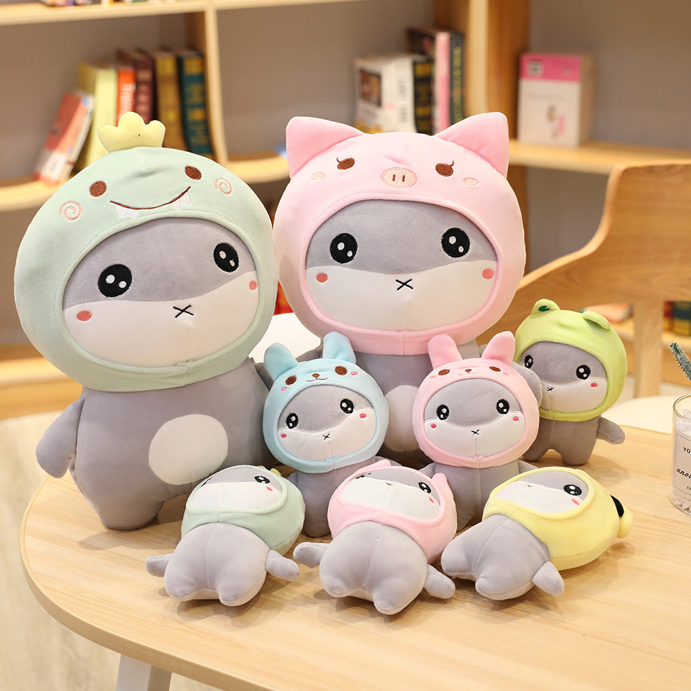 12/20cm Cute Hamster Mouse Plush Toy Stuffed Animal Mouse With Hat Kawaii Bag Pendant Lovely Christmas Gift Doll For Girls Kids