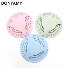 Kitchen Silicone Sink Filter Floor Drain Cover Bathroom Shower Sewer Hair Colanders Strainers Rotatable