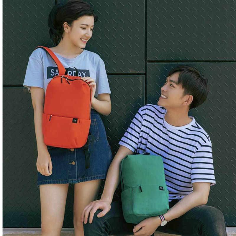 Xiao mi оригинальный mi рюкзак 10L Сумка городской Досуг Спортивный нагрудный пакет сумки для мужчин женщин маленький размер плеча Unise H20 Прямая доставка