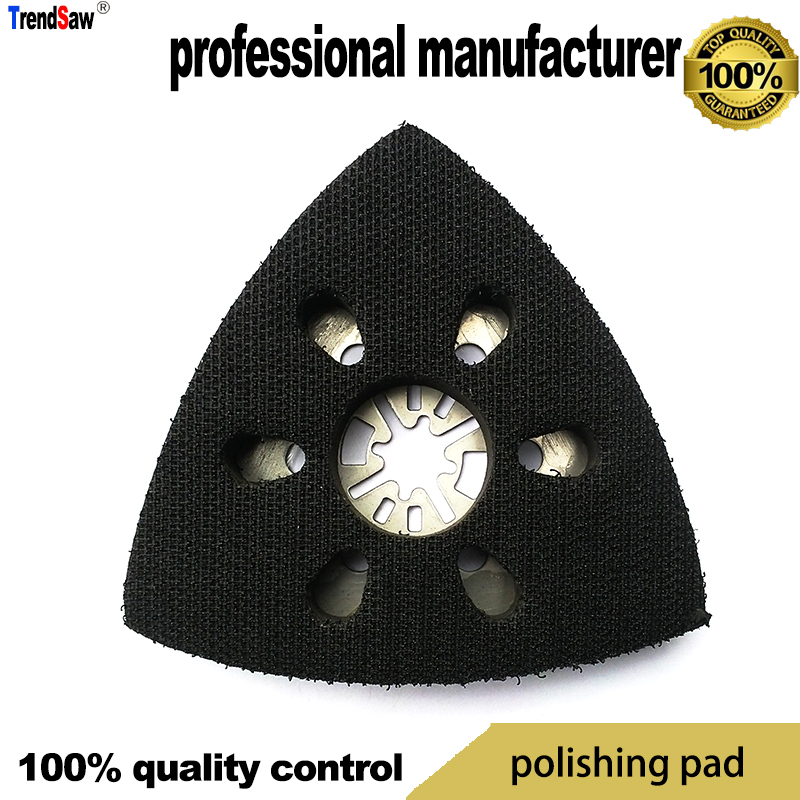 triangle sand pad for multimaster tools work with flocking sand paper for polishing at good price and fast delivery цена в Москве и Питере