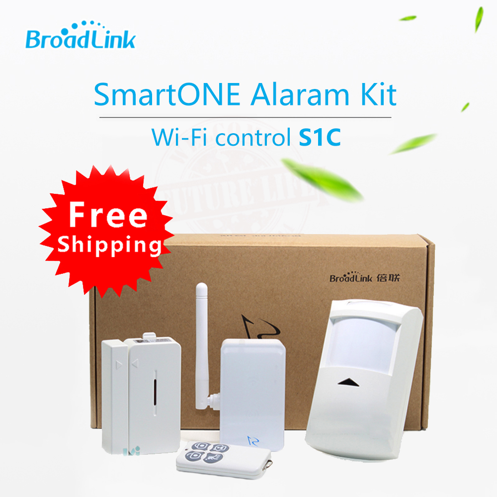 все цены на 2017 New Broadlink S1,S1C SmartOne Alarm Detector Senso Security Kit For Home Smart Home Alarm System IOS Android Remote Control онлайн