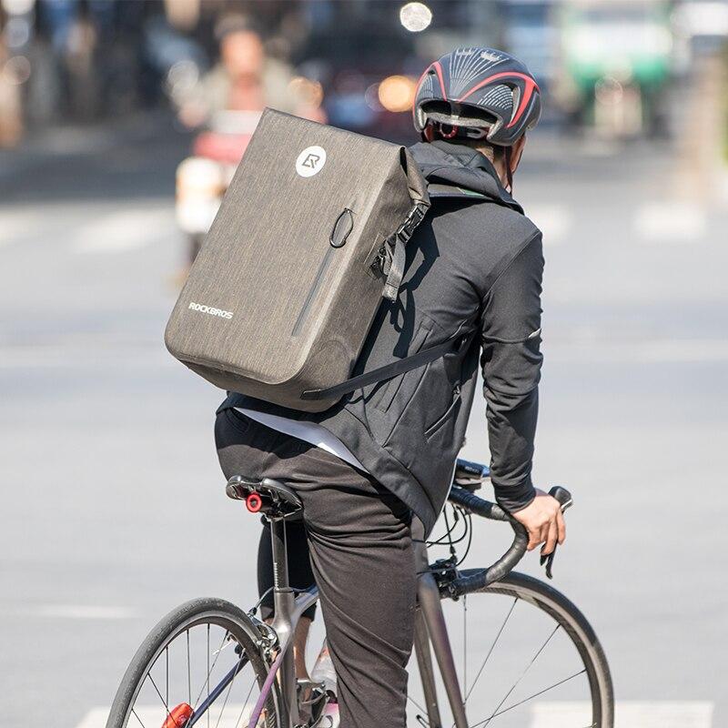 ROCKBROS 24L велосипедный рюкзак для велоспорта, повседневные школьные сумки, водонепроницаемый велосипедный Рюкзак Для Путешествий, Походов, п...