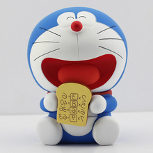 New Arrival 14cm Anime Classic Cartoon Doraemon PVC Action Figure Toy Doll For Children With Box