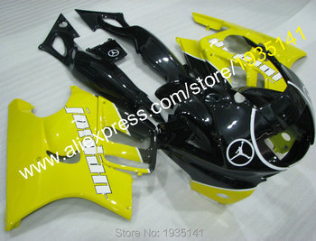 For Honda CBR600 F3 97 98 CBR 600 F3 1997 1998 CBR600F3 Yellow Black Customize Motorcycle Fairing Kits (Injection molding)