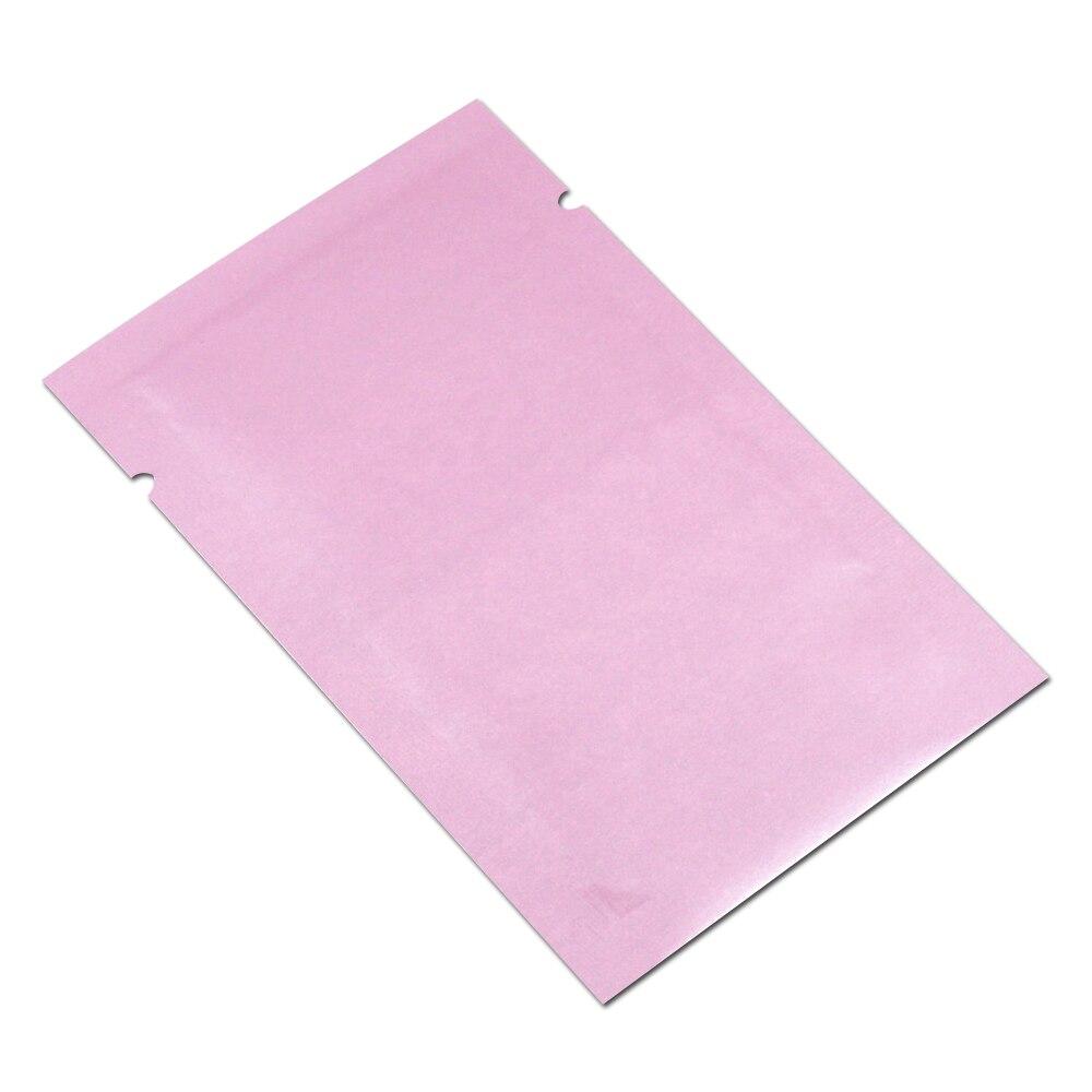 100/x Open top nero aluminum foil pacchetto sacchetti sacchetti buste per alimenti Heat Seal Mylar bag confezione 10/x 15/cm 9,9/x 15/cm