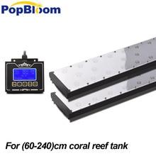 18 24 36 48 72 96 smart marine aquarium led lighting, coral reef saltwater lamp programmable timer sunrise dimmable