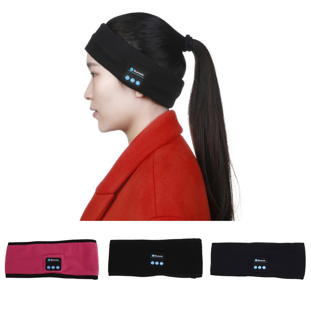 High Quality Wireless Bluetooth 3.0 Stereo Sleep Headphone Handsfree Headset Sports Headband for iPhone Samsung HTC etc. high quality portable wireless bluetooth headphone stereo audio headset earphone support fm handsfree for iphone samsung