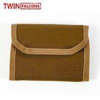 Tactical Wallet Card Key Purse Nylon 1000D Cordura Notecase Coin Burse Military Tactical Hunting Outdoor TW H002