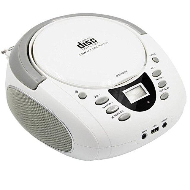 Super LONPOO 2018 Draagbare CD Boombox bluetooth Speaker met Bluetooth TN-63