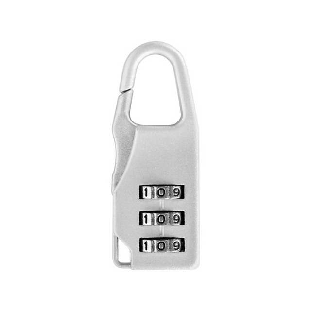 New 3 Mini Dial Digit Number Code Password Combination Padlock Security Travel Safe Lock for Padlock Luggage Lock of Gym