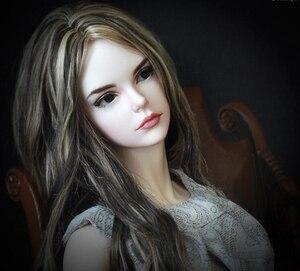Image 1 - HeHeBJD 1/3 güzel kız Vera ücretsiz gözler reçine modeli yüksek kaliteli oyuncaklar