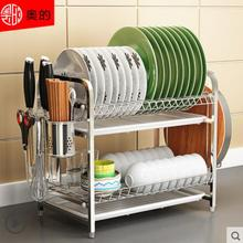 304 stainless steel kitchen bowl rack drain chopsticks dish