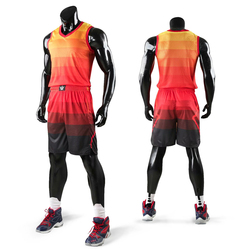New kids men throwback basketball training jersey set blank college tracksuits breathable basketball jerseys uniforms customized