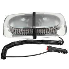 12V 240LED Магнитный аварийный бар Предупреждение стробоскоп флэш-светильник Маяк 20W(янтарный или белый