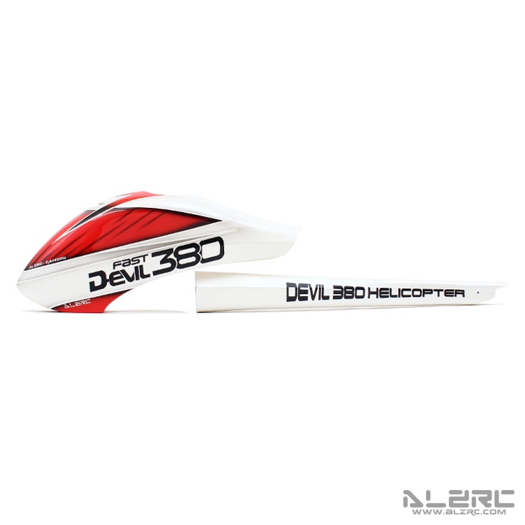 ALZRC - Devil 380 FAST glass fiber painted shell set /P-A D380CP-P-AALZRC - Devil 380 FAST glass fiber painted shell set /P-A D380CP-P-A