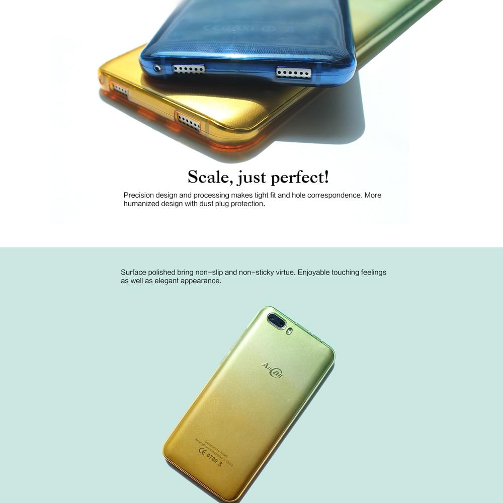 רך TPU טלפון מקרה עבור 5.0 סנטימטרים טלפון ריו PZ0066 מגן מקרה TPU כיסוי ידידותי לסביבה נגד שריטות בצבע