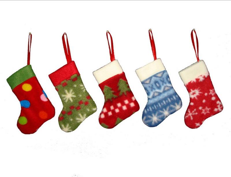 Christmas tree decoration hanging socks for new year for New home christmas decoration