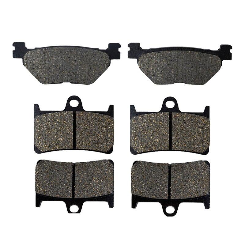 Motorcycle Brake Parts Front & Rear Brake Pads For YAMAHA TDM900 2002-2015 XV1900 2006-2014 FJR1300 XV1700 Oad Star Midnight