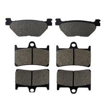 Motorcycle Brake Parts Front & Rear Brake Pads For YAMAHA TDM900 2