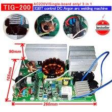 YDT PCB WS250 IGBT управление одной печатной платы с функциями TIG/MMA для сварочного аппарата AC220V