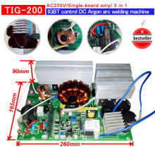 цены tig- 140 IGBT PCB  Single boards for  IGBT inverter welding machine AC220V  inverter pcb inverter welding pcb 3 in 1