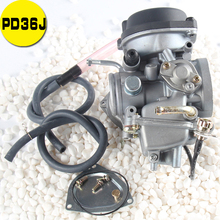 все цены на Carburetor carb for PD36J LTZ400 LT-Z400 Carb 2003-2009 KLF400 KSF400 KFX400 KVF400 Arctic Cat DVX4 ATV Part Carby онлайн