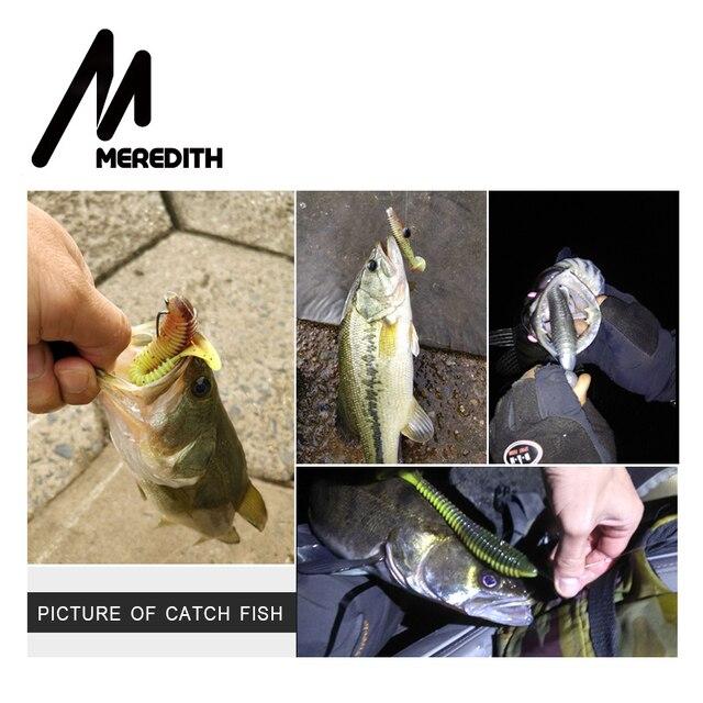 MEREDITH Fishing Lures  Swing Impact FAT Swimbait 6.8''  180mm/33.6g 1pcs Craws Soft Lures Fishing Soft Bait Bass Bait 5